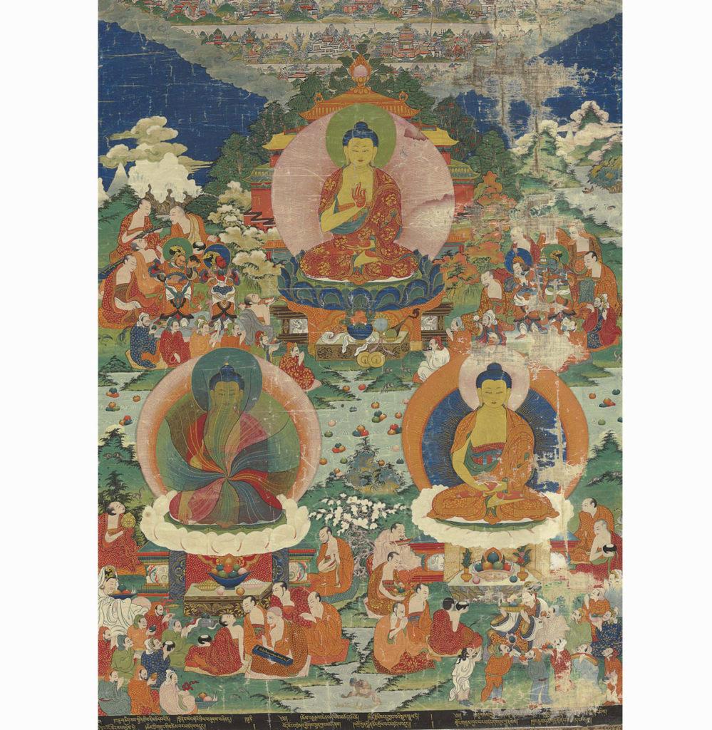 Thangkas and Mandalas.