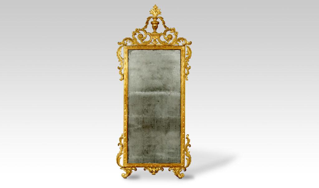 Miroir du XVIII ème siècle