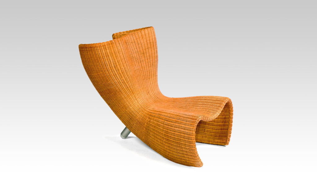 Chaise Wicker en rotin