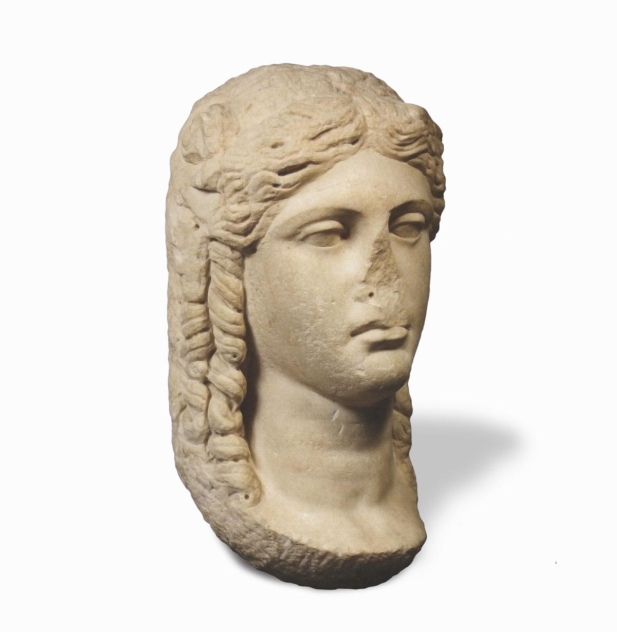 Archéologie romaine. Tête en marbre, prix sculpture romaine estimation expertise vendre archéologie tete, buste, vase, romaine,