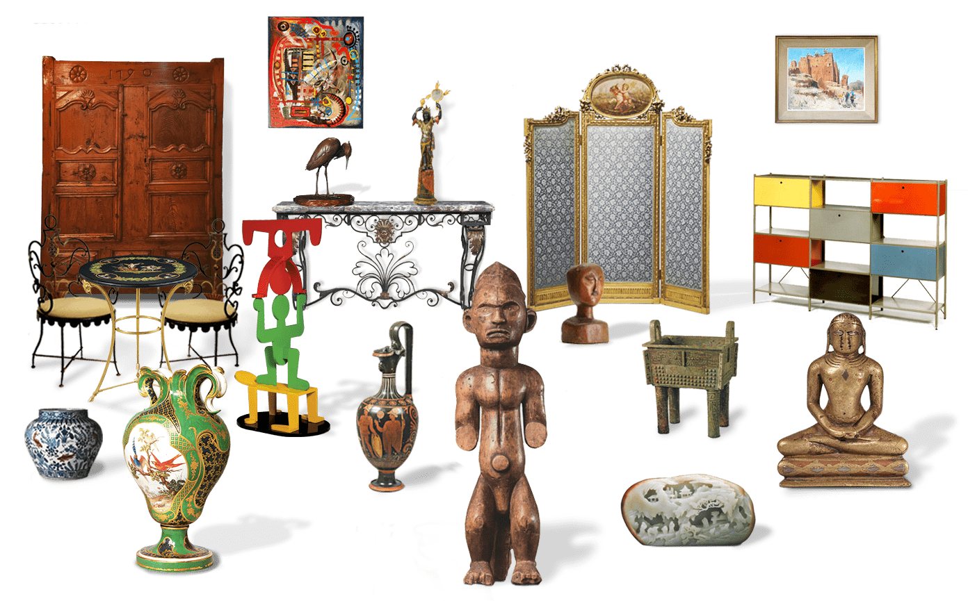 Achat, vente et estimations gratuites sur Grasse. Meubles anciens et mobilier XXème, Tableaux de peintres connus français et étrangers, objets d'art et art asiatique à grasse