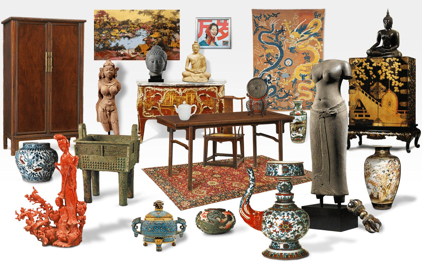 Buy & Sell antiques, 20th and Asian art - Furniture, Objects